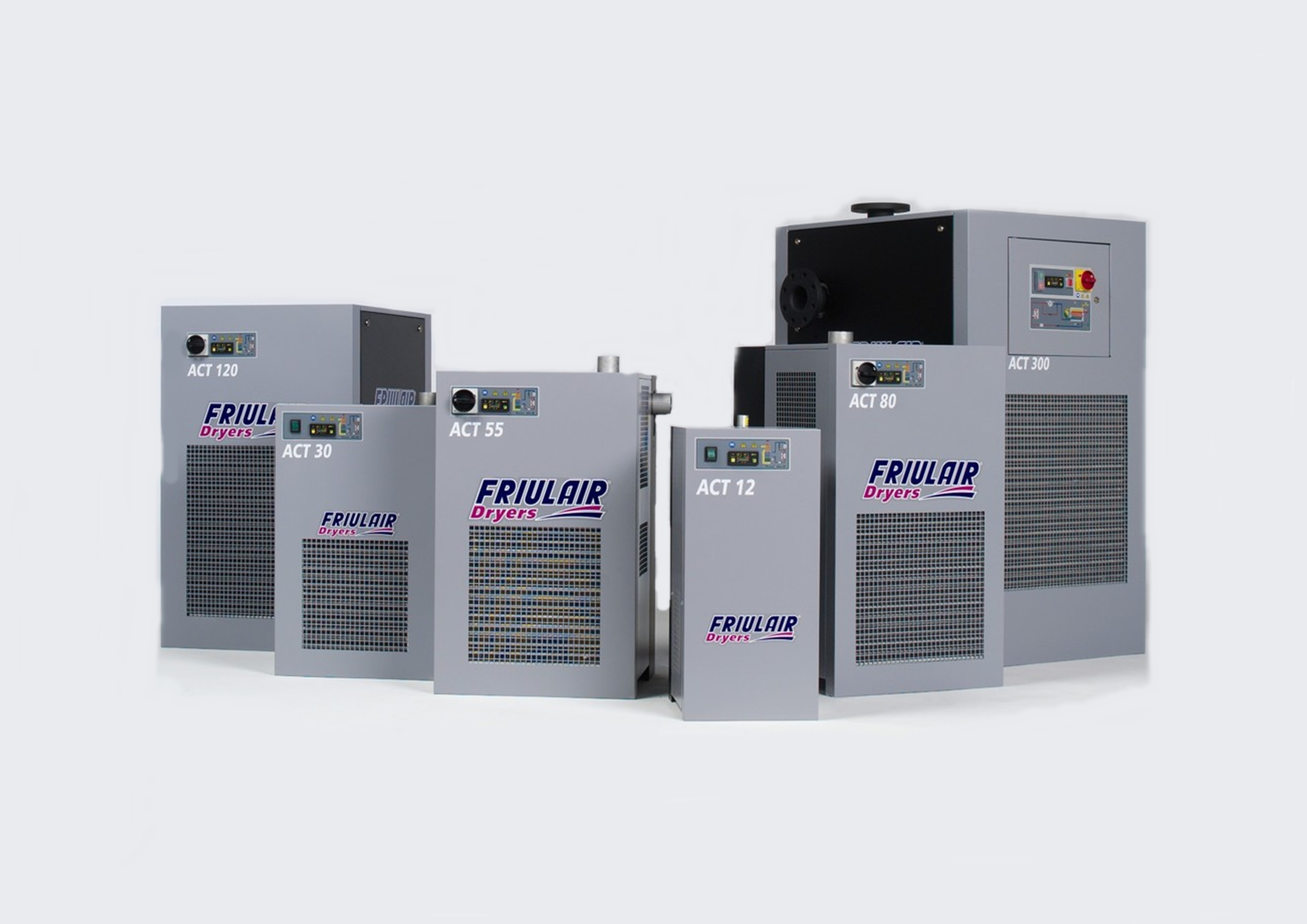Компрессорное оборудование компании Friulair