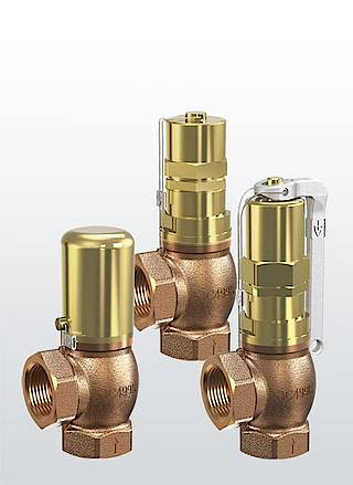 Перепускные и регулирующие клапаны Серия 618