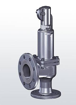 Предохранительные клапаны с гофрированным чехлом Серия 452bGL
