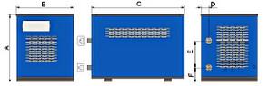 Осушители воздуха Friulair Рефрижераторного типа Серия DFE-DFF