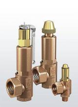 Предохранительные клапаны с гофрированным чехлом Серия 851bG
