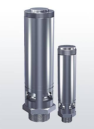 Высокопроизводительные предохранительные клапаны Серия 412